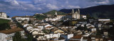High Angle View of a City, Ouro Preto, Minas Gerais, Brazil Photographic Print by  Panoramic Images
