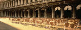Chairs Outside a Building, Venice, Italy Photographic Print by  Panoramic Images