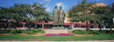 Low Angle View of Mayo Brothers Statue in a Garden, Civic Center Gardens, Rochester, Minnesota, USA Photographic Print by  Panoramic Images