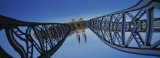 Low Angle View of a Bridge, Blue Bridge, Freiburg, Germany Photographic Print by  Panoramic Images