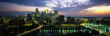 Buildings Lit Up at Dusk, Minneapolis, Minnesota, USA Fotografie-Druck von  Panoramic Images