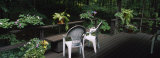 Chairs on the Deck Porch of a House Photographic Print by Panoramic Images