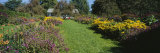 House in a Garden, Vergennes, Vermont, USA Photographic Print by  Panoramic Images