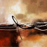 Symphonie en rouge et kaki II Affiches par Laurie Maitland