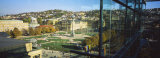 High Angle View of a City, Schlossplatz, Stuttgart, Baden-Wurttemberg, Germany Photographic Print by  Panoramic Images