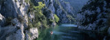 River Flowing Between Mountains, Verdon River, France Photographic Print by  Panoramic Images