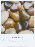 River Rocks Print by Boyce Watt