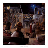 Paris la Nuit Prints by Didier Lourenco