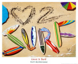 Love 2 Surf Prints by Scott Westmoreland