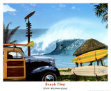 Break Time Posters by Scott Westmoreland