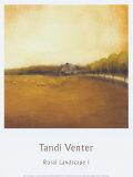 Rural Landscape I Poster by Tandi Venter