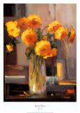 Floral Sunrise Affiches par Jennie Tomao-Bragg