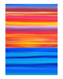 As The Sun Goes Down Giclee Print by Jerry Clovis