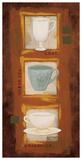 Tea Time Posters by Rita Vindedzis