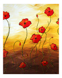 Poppy Joy Giclee Print by Megan Duncanson