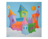 Dream castle Giclee Print by  Astrid