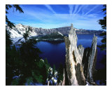 Crater Lake Photographic Print by BuffaloWorks