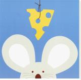 Cucú V, Ratón Reproducción en lienzo de la lámina por Yuko Lau