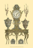 Antique Decorative Clock II Prints by Giovanni Battista Piranesi