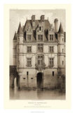Sepia Chateaux V Giclee Print by Victor Petit
