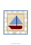 EJ&#39;s Sailboat Poster by Chariklia Zarris
