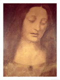 Head of Christ Giclee Print by Leonardo da Vinci