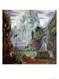 The Triumph of Alexander the Great Giclee Print by Gustave Moreau