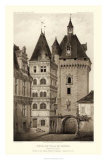 Sepia Chateaux VI Giclee Print by Victor Petit
