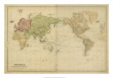Mercator's Projection Prints