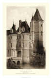 Sepia Chateaux VII Giclee Print by Victor Petit