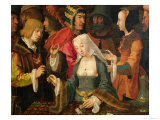 The Fortune Teller Giclee Print by Lucas van Leyden