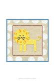Katherine's Lion Posters by Chariklia Zarris