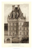 Sepia Chateaux VIII Giclee Print by Victor Petit