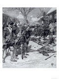 "The ""Boston Massacre"", from Harper's Magazine, 1883 Giclee Print by Howard Pyle"