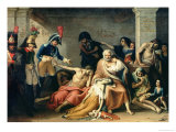 The Starving of Madrid, in 1811-12, 1818 Giclee Print by Jose Aparicio
