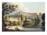 "Bath Wick Ferry, from ""Bath Illustrated by a Series of Views"" Giclee Print by John Claude Nattes"