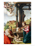 Adoration of the Holy Child Giclee Print by Biagio Pupini