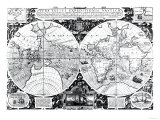 World Map; Vera Totius Expeditionis Nauticae Giclee Print
