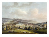 "A General View of Bath, from ""Bath Illustrated by a Series of Views"" Giclee Print by John Claude Nattes"