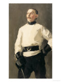 The Fencing Master Giclee Print by Gari Melchers