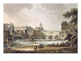 "New Bridge, from ""Bath Illustrated by a Series of Views"", Pub. by William Miller, 1804 Giclee Print by John Claude Nattes"