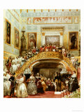 State Ball at Buckingham Palace, 5th July 1848 Giclee Print by Eugene Louis Lami