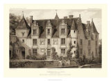 Sepia Chateaux III Giclee Print by Victor Petit