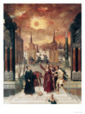 Dionysius the Areopagite Converting the Pagan Philosophers, 1570s Giclee Print by Antoine Caron