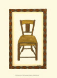 Rustic Chair II Poster by Vanna Lam