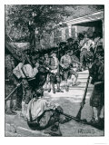 Shays's Mob in Possession of a Courthouse Giclee Print by Howard Pyle