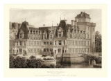Sepia Chateaux IV Giclee Print by Victor Petit