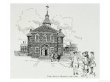 Carpenter's Hall, Philadelphia, Where First and Second Continental Congresses Had Sessions, 1896 Giclee Print by Howard Pyle