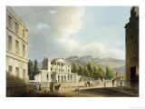 "Sydney Hotel, from ""Bath Illustrated by a Series of Views"" Giclee Print by John Claude Nattes"