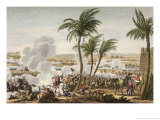 The Battle of the Pyramids, 3 Thermidor, Year 6 Giclee Print by Jacques Francois Joseph Swebach